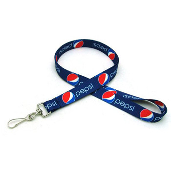 "1/2"" Digitally Sublimated Lanyard w/ J Hook"