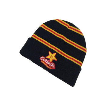 Beanie with Embroidered Logo & Fold