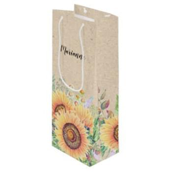 "250g C1S paper bag with full color imprint on all sides (5.25*13*3.25"")"