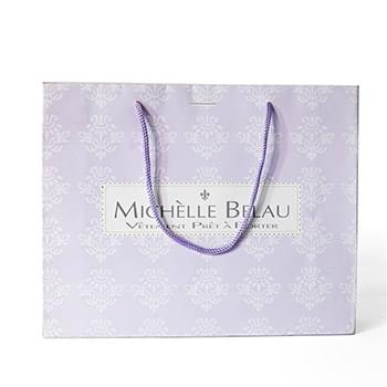 "250g C1S paper bag with full color imprint on all sides (8.25*10.5*4"")"