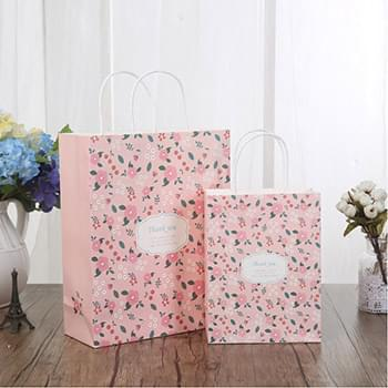 "150g Kraft Paper bag with full color imprint on all sides (5.25*13*3.25"")"