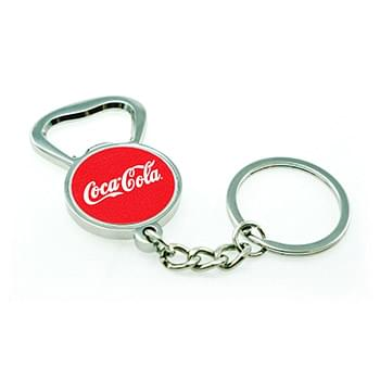Full Color Bottle Opener Keychain