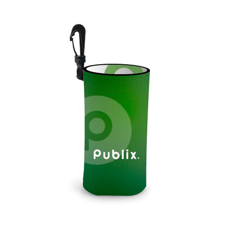 Reversible Full Color Water Bottle Cooler