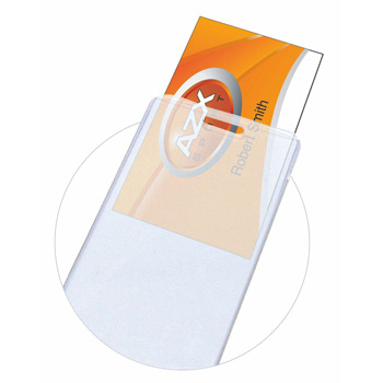 "1/16"" Thick Printed Luggage Tag w/ Business Card Insert"