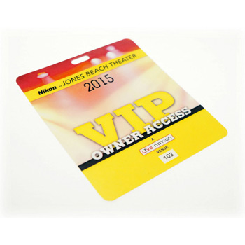 "2.5"" x 3.5"" Gift Card Stock Lanyard Card"