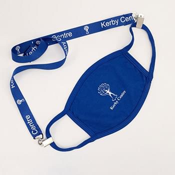Silkscreened Mask Lanyard