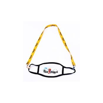 Sublimated Mask Lanyard