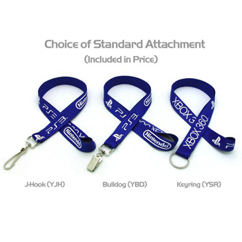 "Air Imported 3/4"" Silkscreened Flat Lanyard"